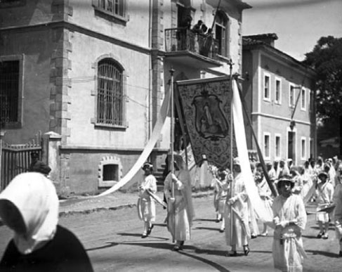 Procesioni i trupit të Krishtit, Kel Marubi, 1929