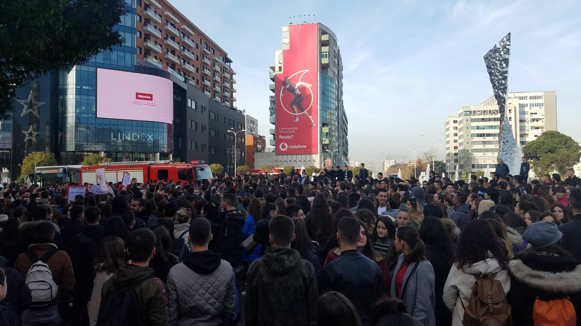 Protesta e studentevee