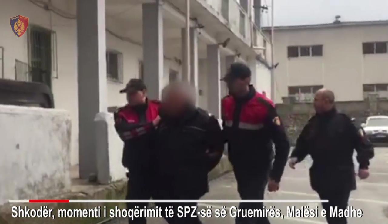 arrestim polici ne shkoder