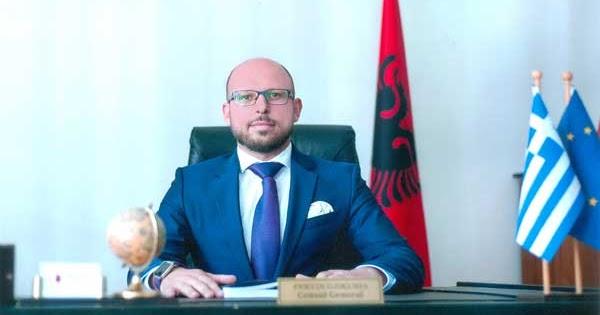 Pervin Gjikuria, konsulli shqiptar në Janinë