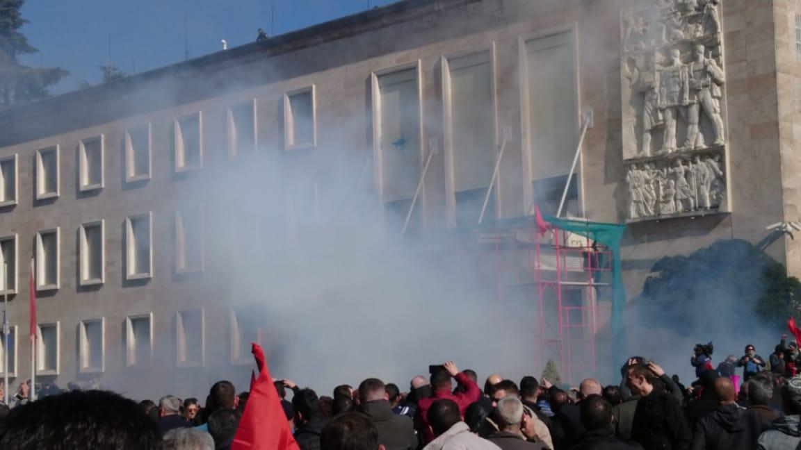 Protesta-kryeministria