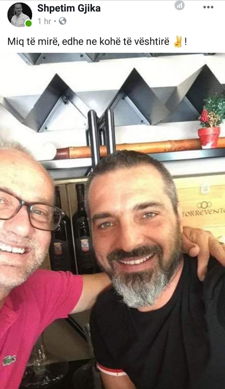 Saimir Tahiri dhe Shpetim Gjika