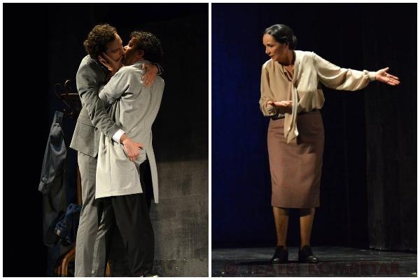 """""""Engjëjt e Amerikës"""" Puthje homoseksuale dhe fjalor provokues në teatër1111"""