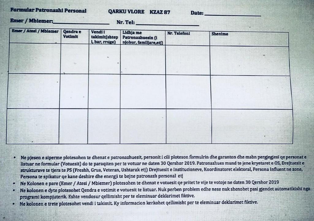 formulari