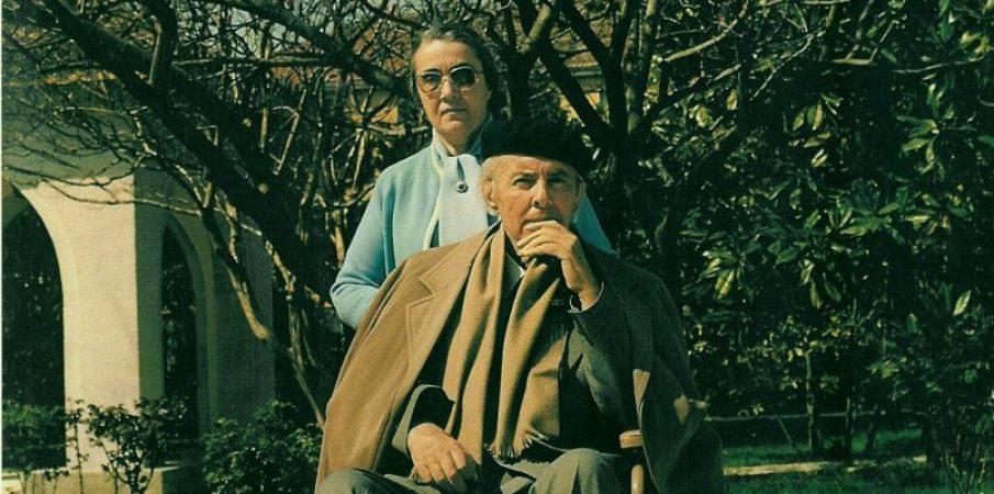 Nexhmije-Hoxha dhe Enver Hoxha