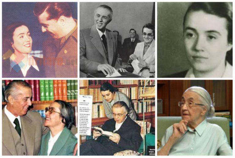 Nexhmije-Hoxha dhe Enver Hoxha12