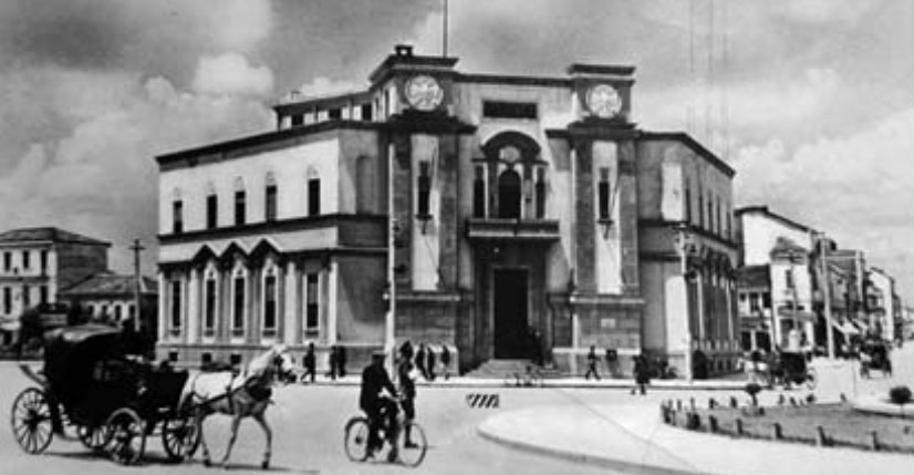 Bashkia e vjetër e Tiranës, shembur në vitin 1980