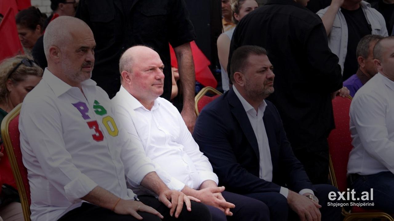 Edi Rama, Tom Doshi dhe Mark Babani