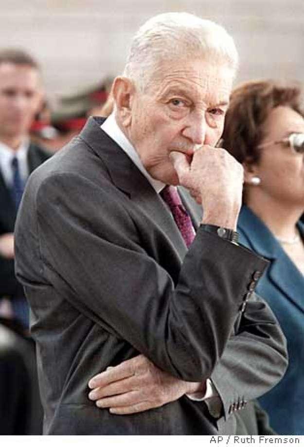 Ish-Presidenti izraelit, Ezer Weizman