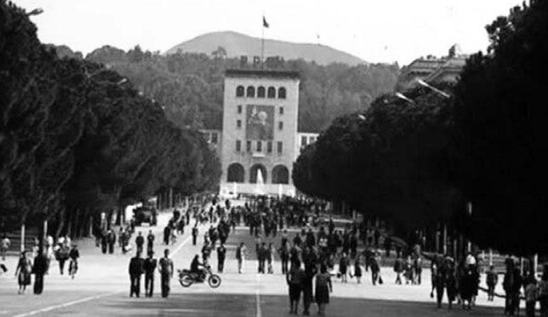 Tirana në vitet '80