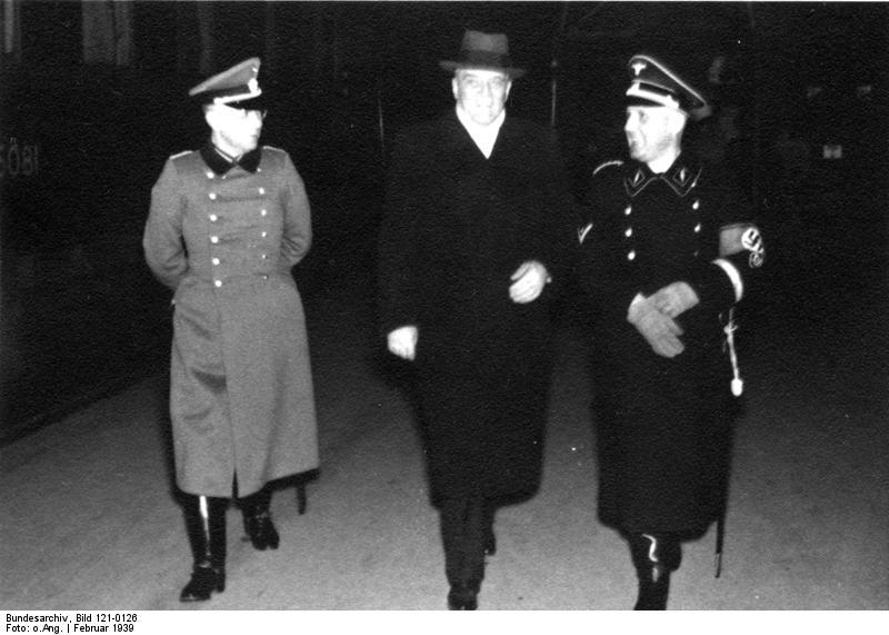 Berlin, Besuch der ungarischen Polizeiabordnung