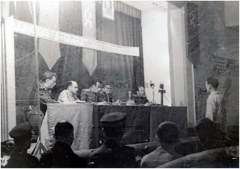 Gjykata-Ushtarake-me-Siri-Carcanin-Faik-Minarollin-Mynyr-Tiranen-1951