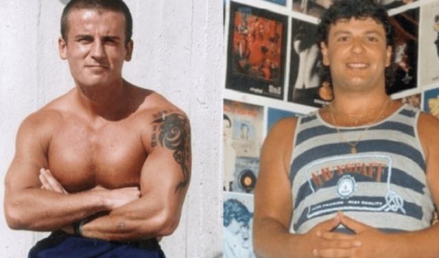 majtas Gerd Gjenerali dhe djathtas Naim Zyberi, vrare ne vitin 1997