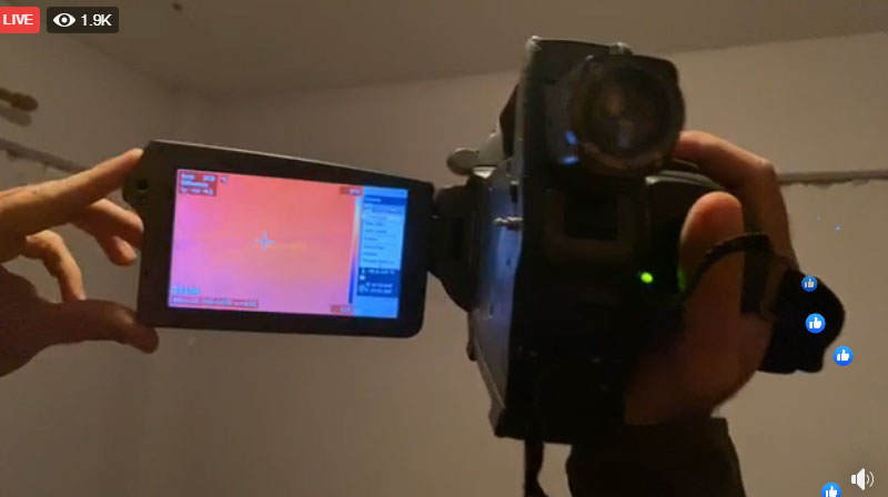kamera-termike