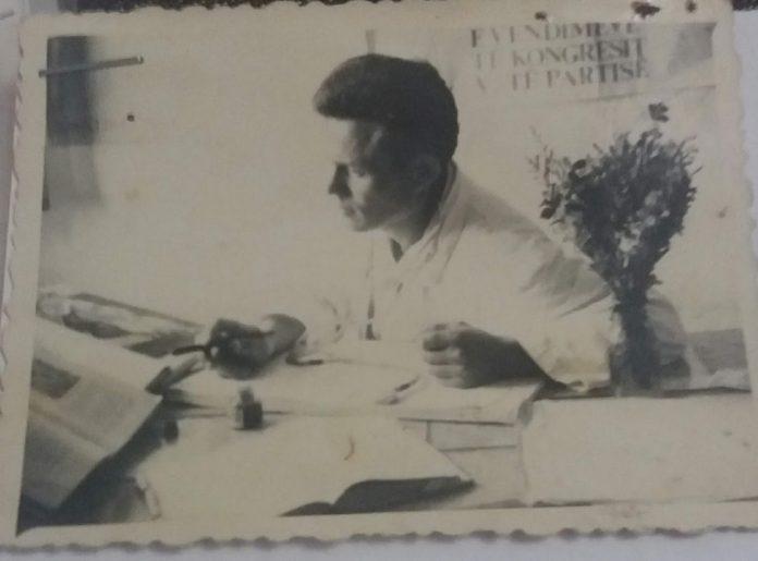 Vasil Zoga Mjek vullnetar ne ambulancen e qendres shendetesore Lushnje