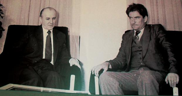 Ramiz Alia dhe Sali Berisha