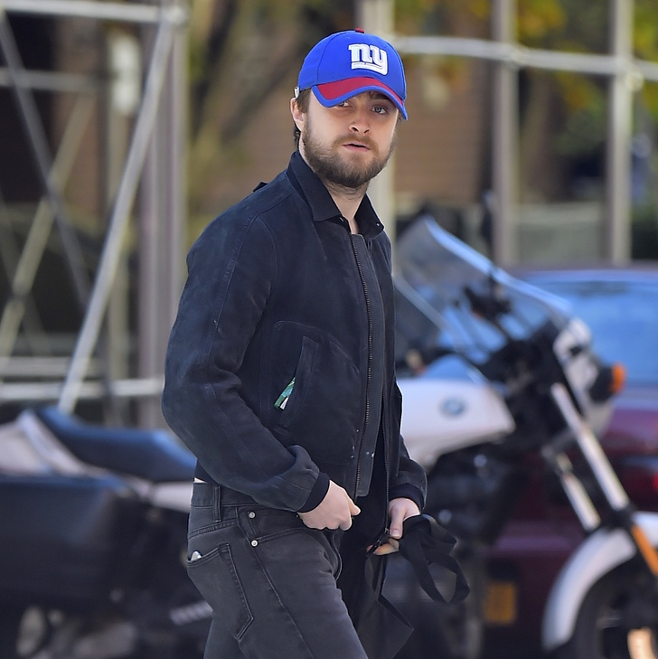 NEW YORK, NY - NOVEMBER 07: Daniel Radcliffe is seen in Soho on November 7, 2016 in New York City. (Photo by Alo Ceballos/GC Images)