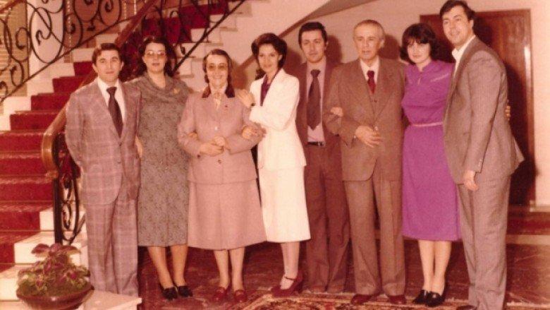 Familja e Enver Hoxhes