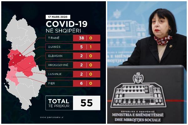 Silva Bino - 17 mars te infektuarit 55