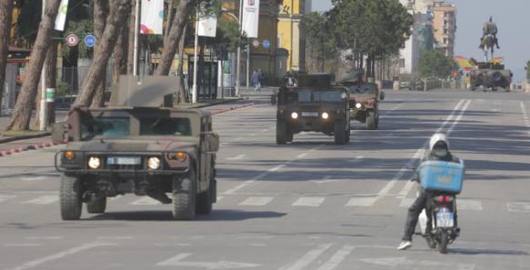 forcat e armatosura tirane makina izolim koronavirus ushtria1