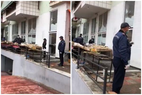 policia bashkiake pazari i ri koronavirus izolim