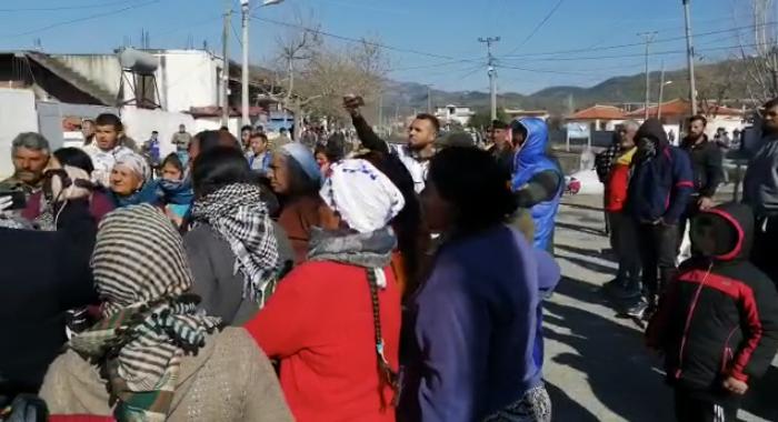 protesta rome koronairusi elbasan2