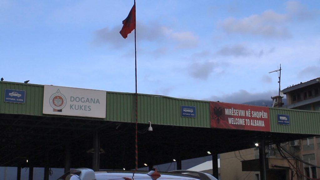 dogana kosove shqiperi kufi kukes