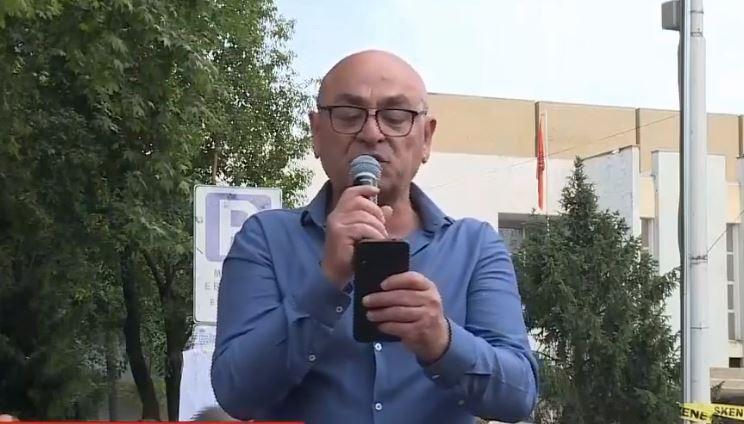 Robert Budina protesta 20 maji