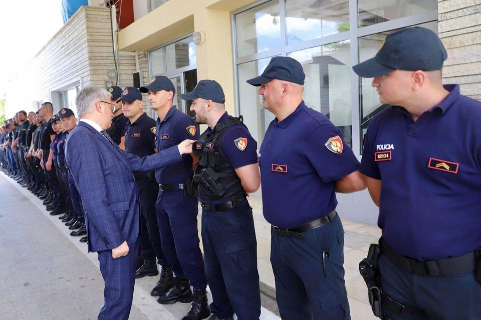 lleshaj policia