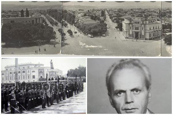 Nga Sheshi Skënderbej, Pallati i Qeverisë e Teatri i madh i dramës, zbulohet plani rregullues i Tiranës i vitit 1953