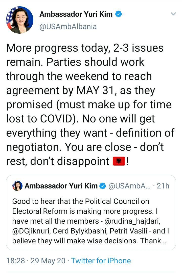 yuri kim ambasadore