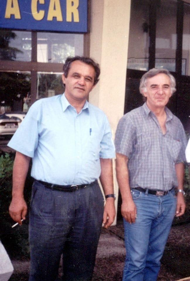 Moikom Zeqo dhe Sadik Bejko