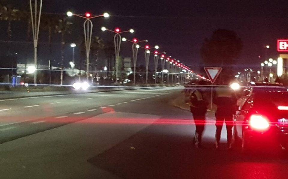 VIDEO/ Policia nxjerr videon, çfarë ndodhi natën në këtë aks rrugor. 8 persona u ndëshkuan, ja pse