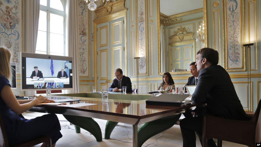 Macron vendos afate për arritjen e marrëveshjes finale Kosovë Serbi  Çfarë thotë këshilltari i kryeministrit të Kosovës