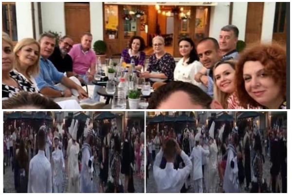 Organizuan COVID-19 party- Berisha denoncon deputetët e PS: Rregullat kundër koronavirusit nuk zbatohen parlamentarët. Festojnë gju më gju me