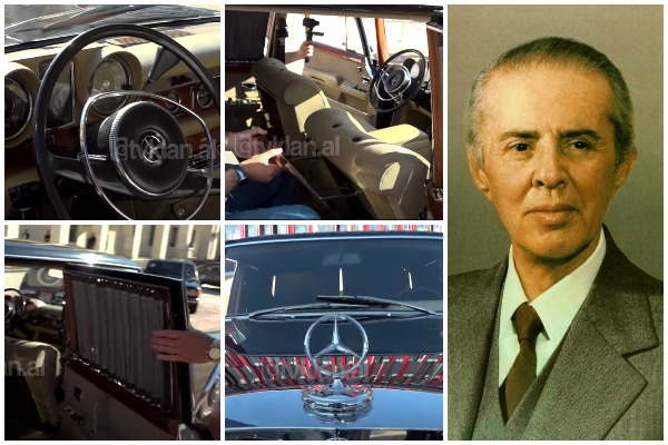 PAMJET/ Brenda makinës luksoze të Enver Hoxhës, shikoni detajet e veçanta dhe të rralla për kohën kur përdorej. Aty ku ulej ish-diktatori