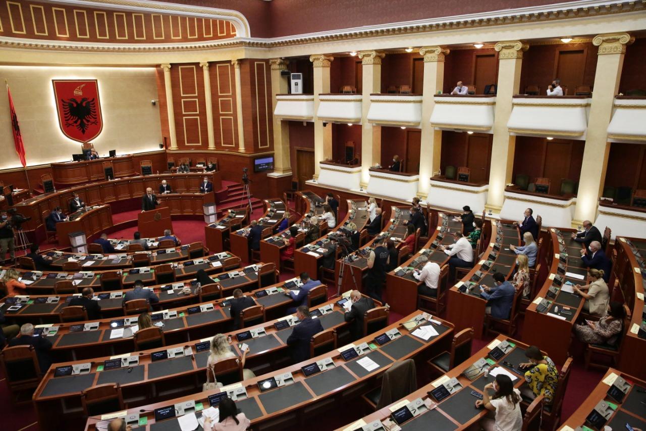 parlament kovid korrik