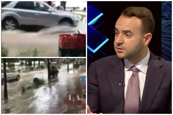 VIDEO/ Pogradeci përmbytet në verë, ish-deputeti thirrje qytetarëve: Të bashkohemi për të shpëtuar këtë qytet të bekuar nga i mallkuari Rama