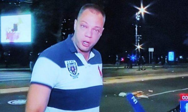 Babi kjo është për ty, sepse vdiqe nga mungesa e respiratorëve, protestuesi serb flet mes lotësh