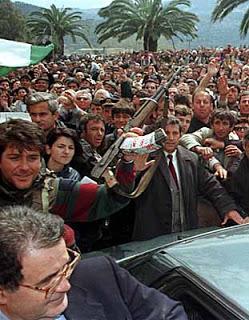 1977, Romano Prodi ne Vlore.