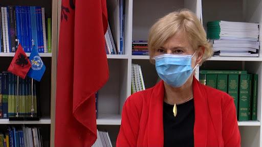 Drejtoresha e OBSH-së për Shqipërinë, Bettina Menne