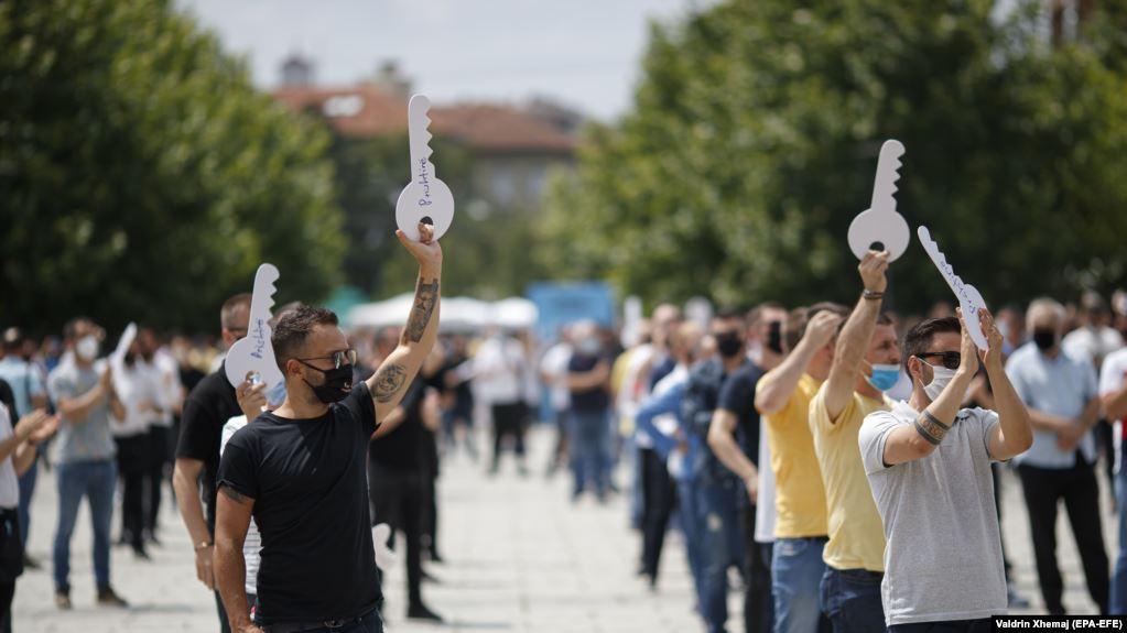 Protesta ne Kosove