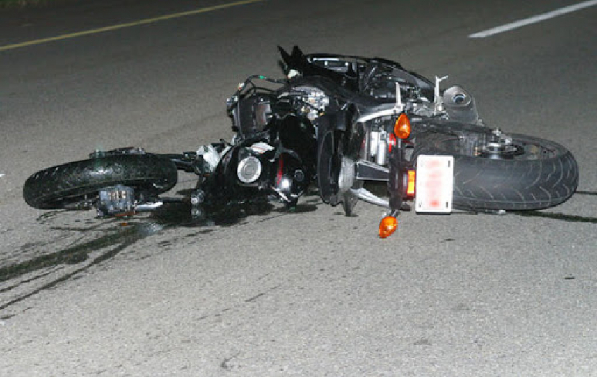 aksident me motor