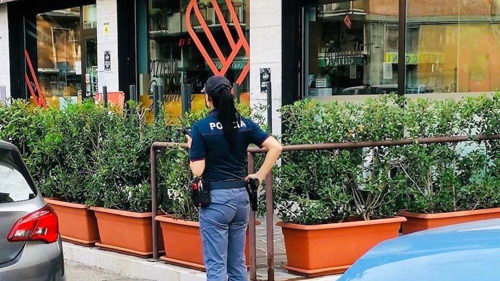 polizia verona via osoppo pizzeria 21.09.2020 - TENTATO FURTO AGGRAVATO-2-2