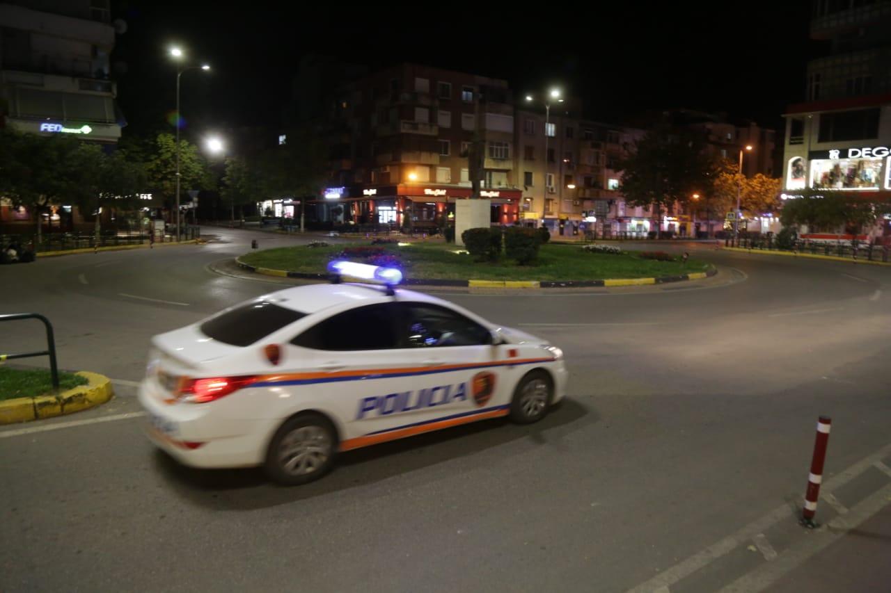 policia ora policore karantine nate tirane covid13