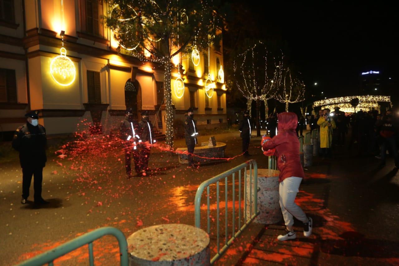 Protesta-dhuna-klodian-rasha-doreheqja-sander-lleshaj-policia-gazilotsjelles-tym-gure-flake (2)