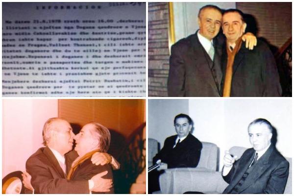 raporti sekret-diplomati shqiptar-enver hoxha