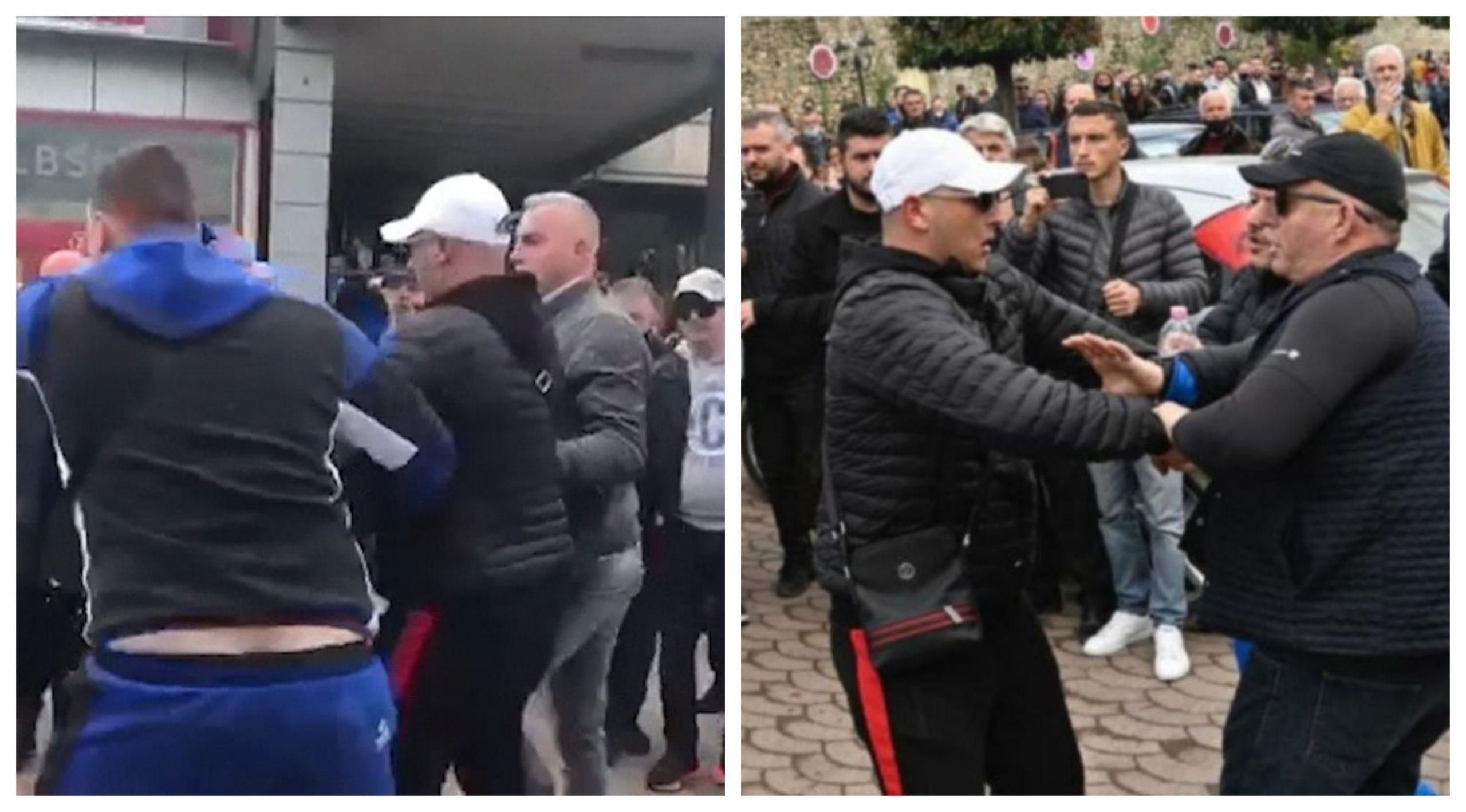 Sherri-ne Elbasan-perplasja-militantet