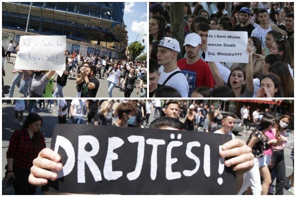 Protesta studenteve