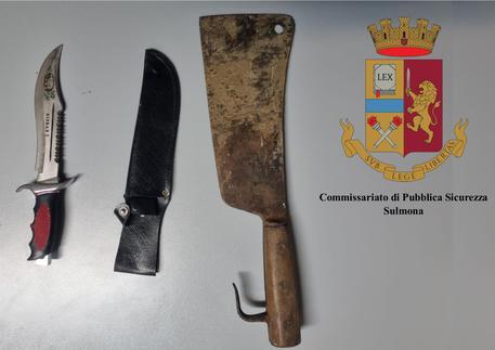 Armi tentato omicidio a Sulmona